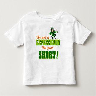 Not a Leprechaun Just Short Toddler T-Shirt
