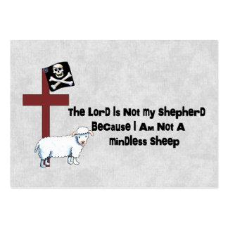 Not A Mindless Sheep Business Card Template