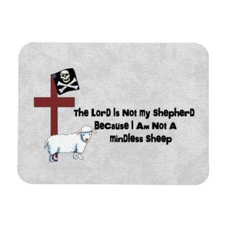 Not A Mindless Sheep Magnet