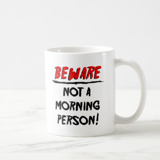 Not a Morning Person Monster Mug