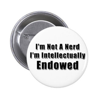 Not a Nerd 6 Cm Round Badge