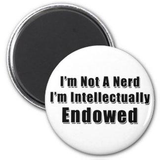 Not a Nerd 6 Cm Round Magnet