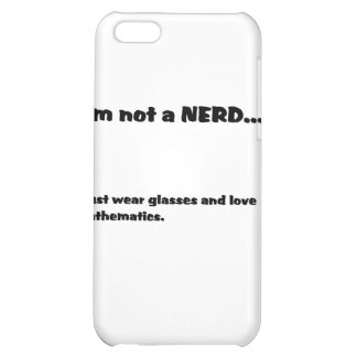 Not a NERD... iPhone 5C Covers