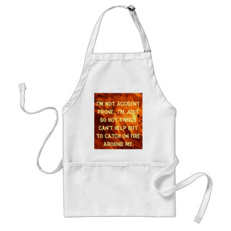 not accident prone standard apron