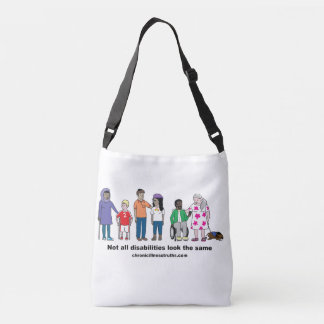Not All Disabilities Look the Same DoubleSided Bag Tote Bag