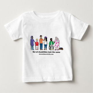 Not All Disabilities Look the Same Kids' Shirt