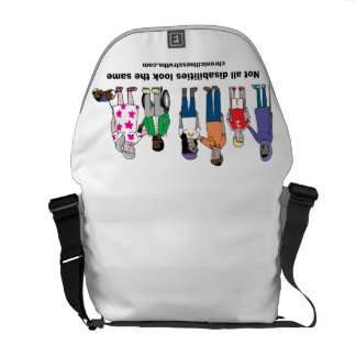 Not All Disabilities Look the Same Messenger Bag