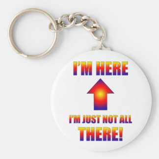 not all there keychain