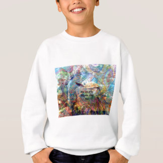Not All Those Who Wander Inspirational Quote Sweatshirt