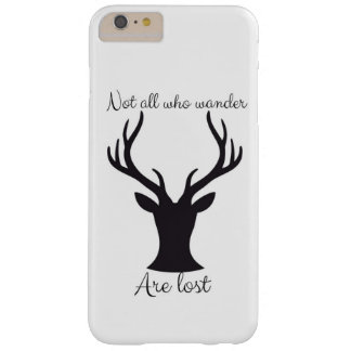 Not all who wander barely there iPhone 6 plus case