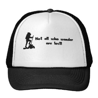 Not all who wander... mesh hats