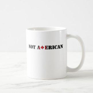 Not American Canadian Coffee Mug
