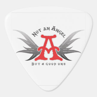 Not an angel but musician guitar pick