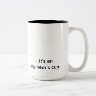 Not an ordinary cup Two-Tone mug