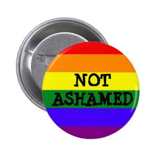 Not Ashamed Pride Button