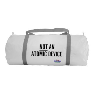 (Not) Atomic Device Transport Container Gym Duffel Bag