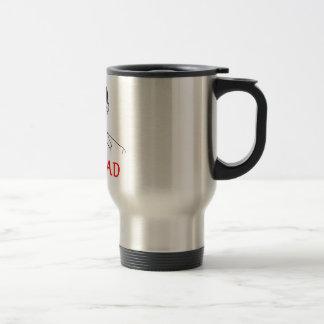 Not bad - meme stainless steel travel mug