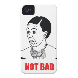 Not Bad - Michelle Obama iPhone 4 Case-Mate Case