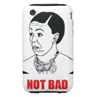 Not Bad - Michelle Obama Tough iPhone 3 Case