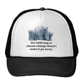 Not believing in climate change cap