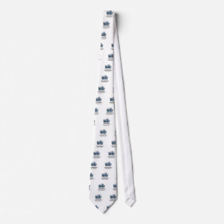 Not believing in climate change tie