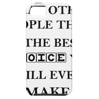 not caring what other people think is the best iPhone 5 cover