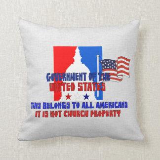 Not Church Property Throw Cushions