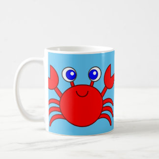 Not Crabby Crab 11 oz Classic White Mug