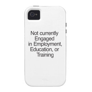 Not currently Engaged in Employment.ai iPhone 4 Cover