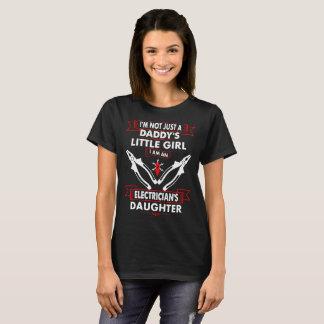 Not Daddys Little Girl Electricians Daughter Shirt
