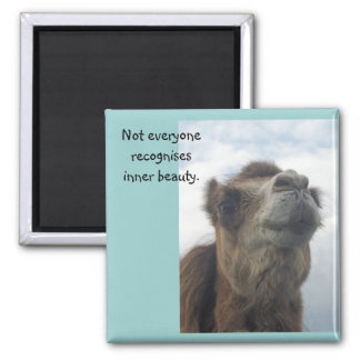 Not everyone recognises inner beauty. magnet