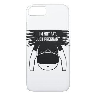 Not fat, just pregnant iPhone 8/7 case