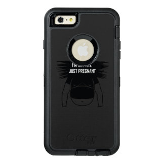 Not fat, just pregnant OtterBox defender iPhone case