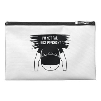 Not fat, just pregnant travel accessory bag