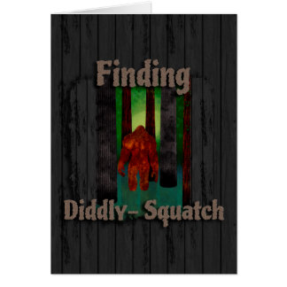 not finding bigfoot card