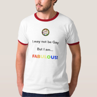 Not gay, just FAB (lgbt ally) T-Shirt