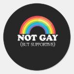 NOT GAY STICKER
