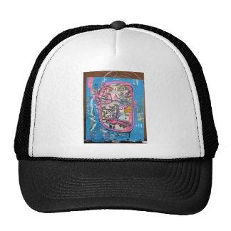 not godlike art by sludge trucker hat