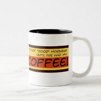 Not Good Morning Mug