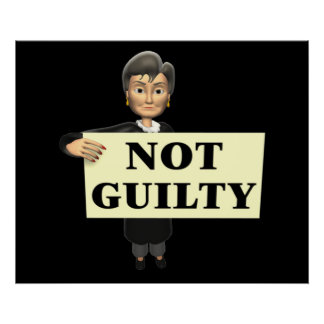 Not Guilty Poster