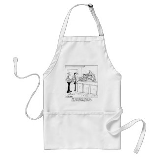 Not Guilty Wood Worker Standard Apron