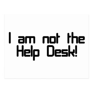 Not Help Desk Post Cards