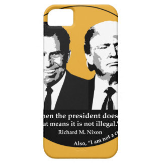 Not Illegal President iPhone 5 Case