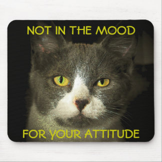 Not in the Mood Mouse Pad