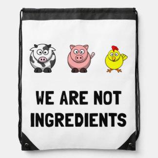 Not Ingredients Rucksacks