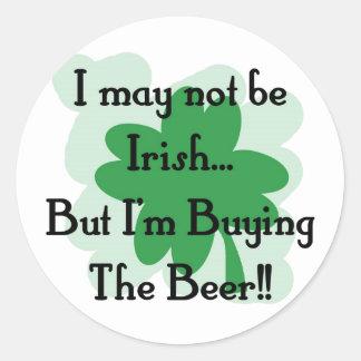not irish but buying stickers