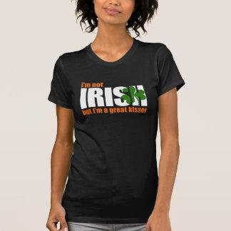 NOT IRISH / GREAT KISSER - tee