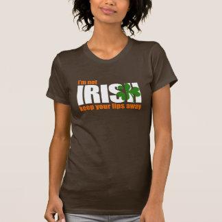 NOT IRISH - t-shirt