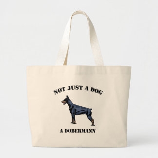 Not Just a Dog Jumbo Tote Bag
