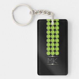 Not Just August Birthday Glam Key Ring